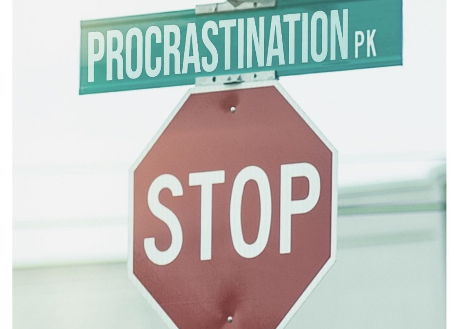 5 solutions to STOP Procrastinating and Get Things Done